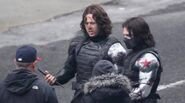 Winter Soldier behind the scenes 8
