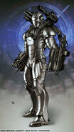 Iron Man 2 2010 concept art 5
