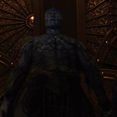 Laufey llega a Asgard.