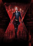 Textless Final Black Widow Poster