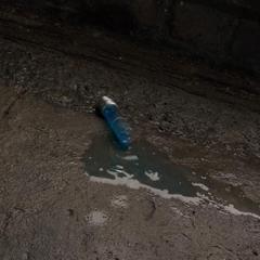 El último frasco del Suero del Súper Soldado se rompe en la calle.
