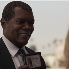 Fury conoce a Vers en Los Ángeles.