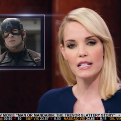 Everhart discute de la culpa financiera de los incidentes de los Vengadores.