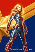 Captain Marvel - CCXP Poster