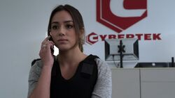 Skye calls Garrett