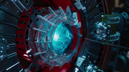 Tesseract in Machine (Avengers)