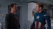 Tony Stark & Captain Rogers
