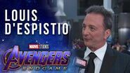 Avengers Endgame Executive Producer Louis D'Esposito LIVE at the Red Carpet Premiere