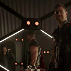 Thor y Loki se reconcilian.