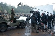Captain America behind the scenes 2