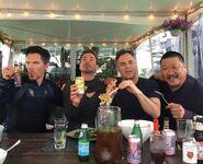 Cumberbatch Downey Ruffalo Wong