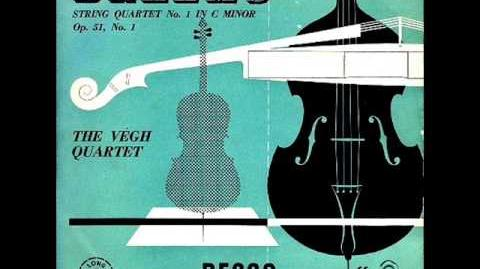 Brahms-String Quartet no 1 in c minor op 51 no 1 (Complete)
