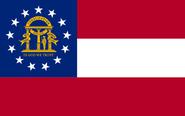 Flag of Georgia state
