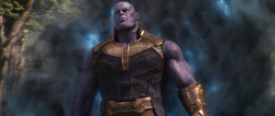 Thanos arrives on Wakanda