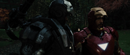 War Machine (Mark I) & Iron Man (Mark VI)