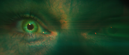Banner Green Eye