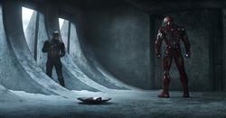 Capitán América frente a Iron Man