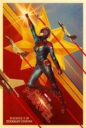 Captain Marvel Dolby Poster