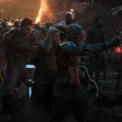 Barnes listo para luchar junto a sus aliados.