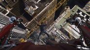 Tony Stark Falling
