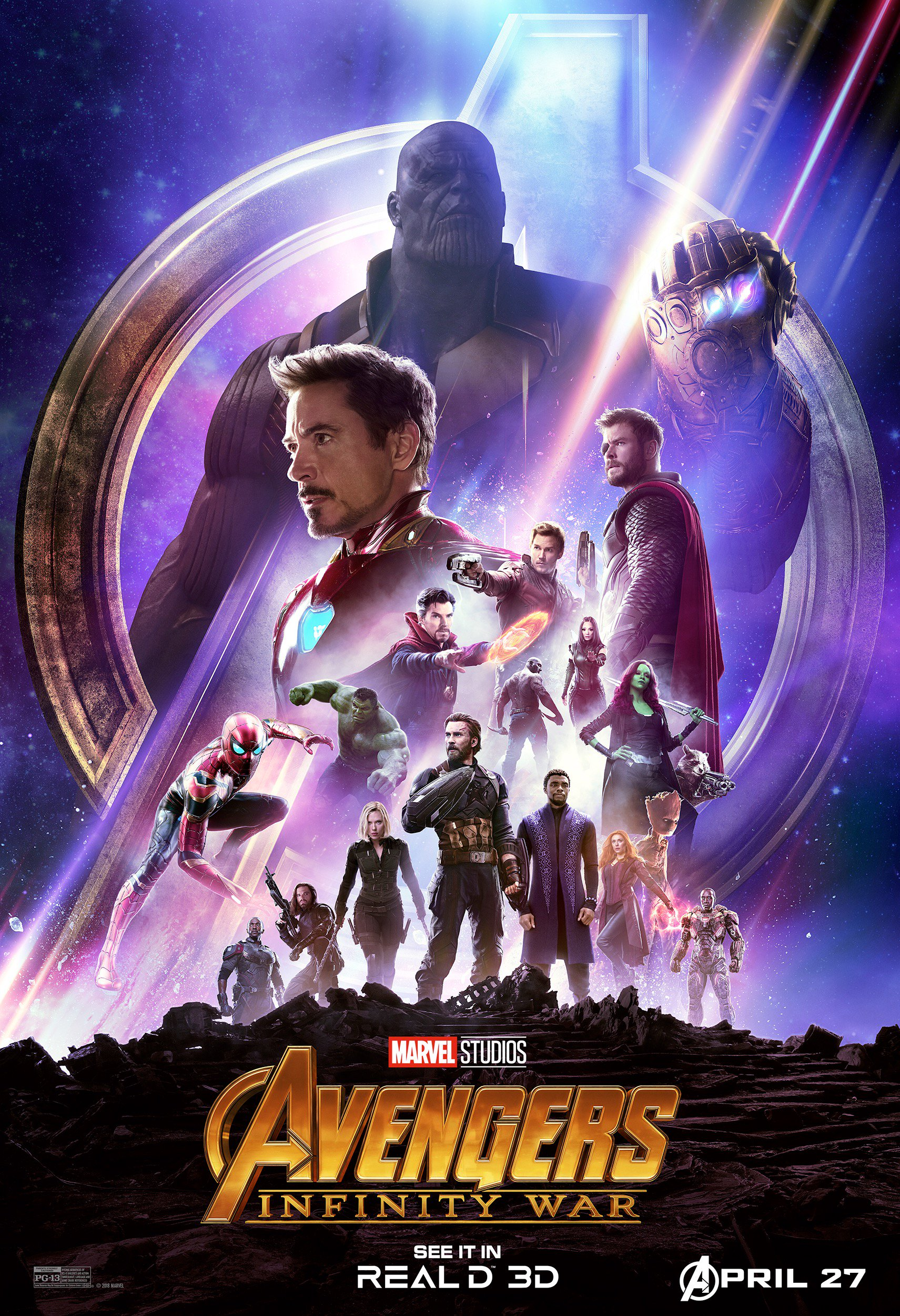 image - infinity war dolby poster 2 | marvel cinematic universe