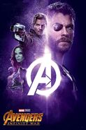 Infinity War Stone Posters (Logo Version) 04