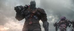 Korg in Asgard Earth-199999
