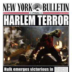 La portada del <i>New York Bulletin</i> acerca del Duelo de Harlem.