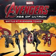 AOU Battle at Avengers Tower