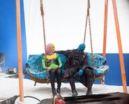 GotGV2 BtS Love Bots and Yondu