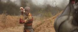 Infinity War Okoye confronts Proxima