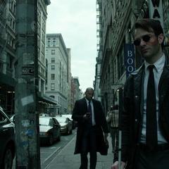 Murdock busca a los traficantes de drogas ciegos.