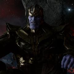 Thanos reprende a Ronan por sus fallas en la misión.