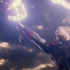 Thor a punto de enfrentar a Malekith.