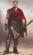 Avengers Infinity War Thor concept art 5
