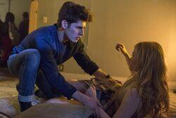 Chase saving Karolina