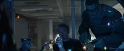 Rocket, Tony and Banner
