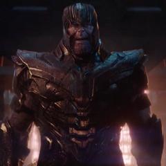 Thanos se reúne con Gamora y Nebula.