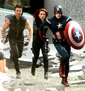 The Avengers filming 5
