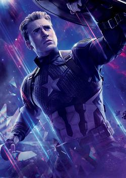 Avengers Endgame - Póster sin texto Steven Rogers