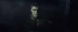 Hulk in a Hot Tub