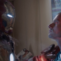 Stark manda al Mark XLII para confrontar a Savin.