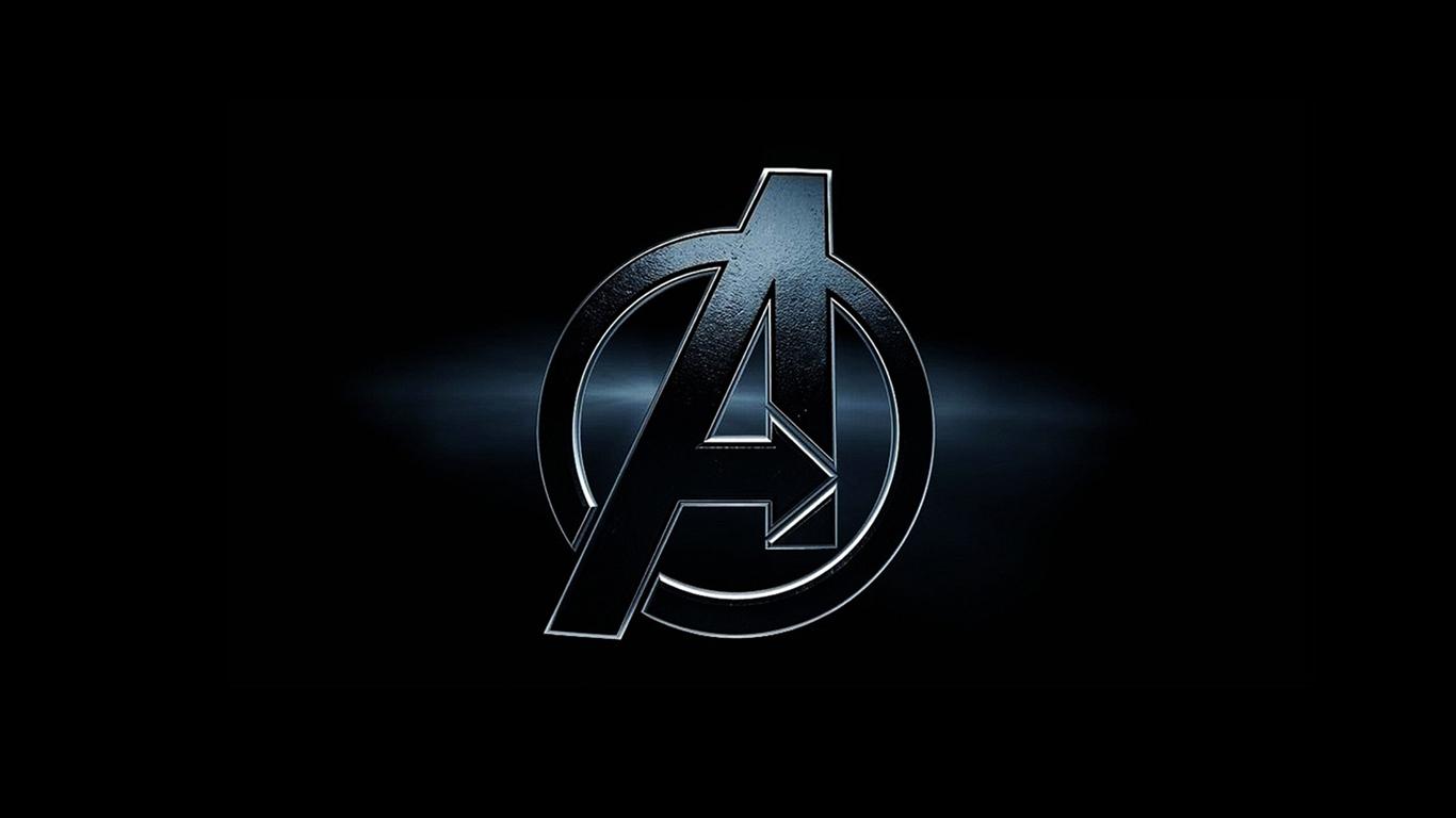 image the avengers logo 1366x768 8614 jpg marvel