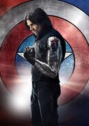 Winter Soldier Textless Poster CACW