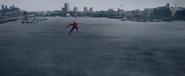 Gliding Spider-Man