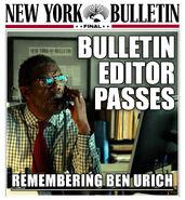 NYB Bulletin Editor Passes