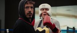 TStarkHHogan-BoxingTraining
