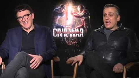 Anthony and Joe Russo on Marvel's Captain America Civil War