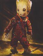 Baby Groot concept art 12