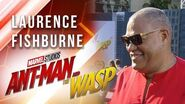 Laurence Fishburne at Marvel Studios' Ant-Man and The Wasp Premiere